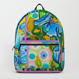 Blue Poppies 2 Backpack