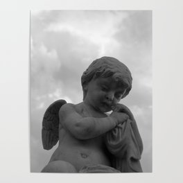 Angel in Contemplation Poster