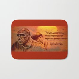Marlon Brando as Colonel Kurtz Bath Mat