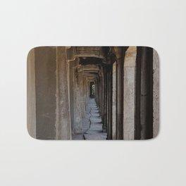 Angkor Wat archways Bath Mat