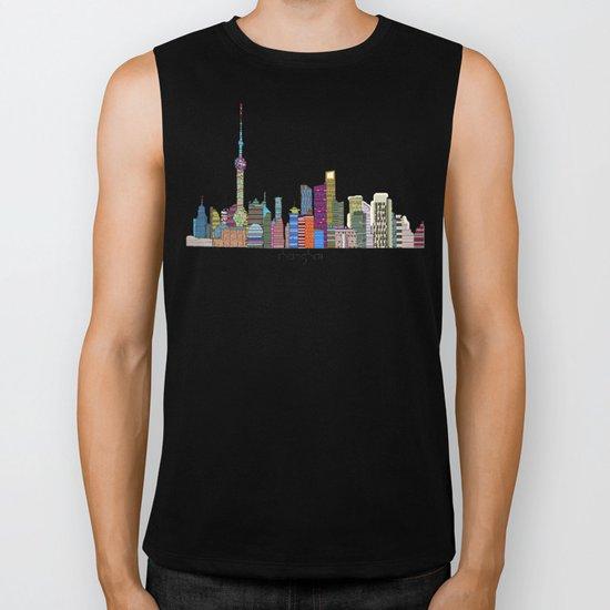 Shanghai city Biker Tank