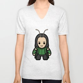 Mantodea Unisex V-Neck