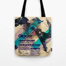 Glaciers - Exploration #4 Tote Bag