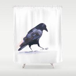Crow #2 Shower Curtain