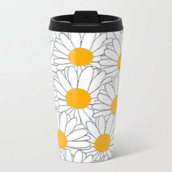 Marguerite-103 Metal Travel Mug