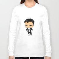 punisher Long Sleeve T-shirts featuring Chibi Punisher by artwaste