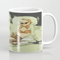 lolita Mugs featuring Lolita by Dano77