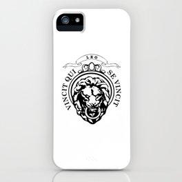 The Lion Conqueror  iPhone Case