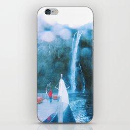 Cruising Milford Sound iPhone Skin