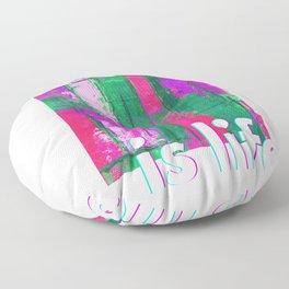 Art Is Life Floor Pillow