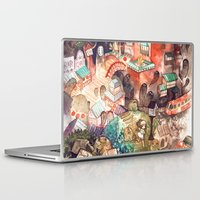spirited away Laptop & iPad Skins featuring Spirited Away by Foya