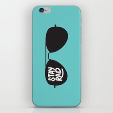 Stay Rad iPhone & iPod Skin
