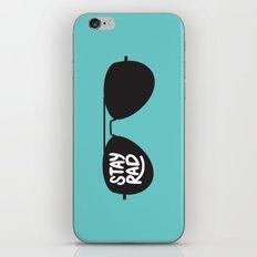 Stay Rad iPhone & iPod Skin