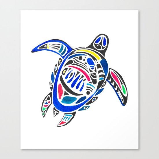 Declan The Sea Turtle Canvas Print