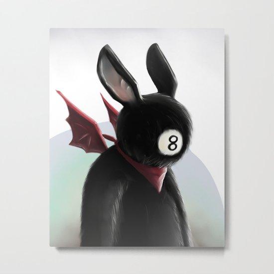 Eightball demon Metal Print