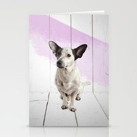 puppy Stationery Cards featuring puppy by Michael Mann