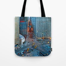 the windy city Tote Bag