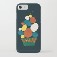 dessert iPhone & iPod Cases featuring Dessert by Picomodi