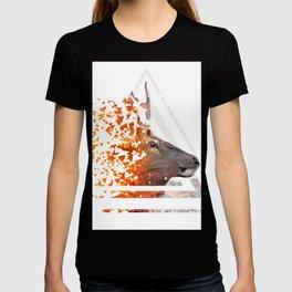 Caution Deer by GEN Z T-shirt