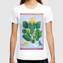 Pan Leaf Ganesh T-shirt