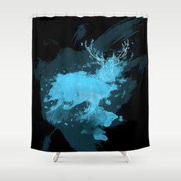 Patronus Shower Curtain