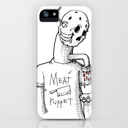 Meat Puppet iPhone Case
