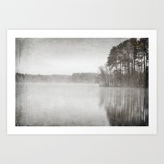 The Middle of December Art Print