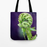 fern Tote Bags featuring Fern by LoRo  Art & Pictures