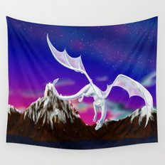 Dragon of the Stars - Itisha the Dragoness Wall Tapestry