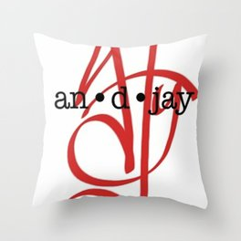 Two Cities Logo Throw Pillow