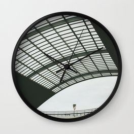 Amsterdam Centraal Train Station #2 Wall Clock