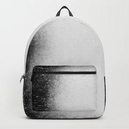 Horror blurry black Backpack