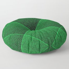 Plush Kelly Green Diamond Floor Pillow