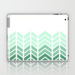 OMBRE LACE CHEVRON Laptop & iPad Skin