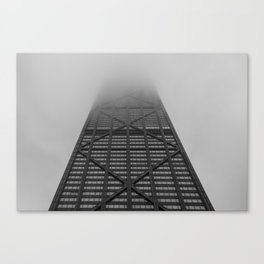 Foggy Chicago Morning 002 Canvas Print