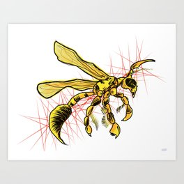 The Wasp Art Print