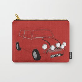The Italian Job Red Mini Cooper Carry-All Pouch