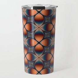 Metallic Deco Copper Travel Mug