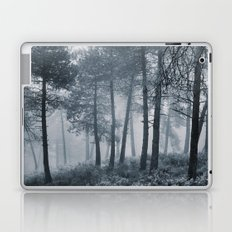 Mistery forest. Retro Laptop & iPad Skin