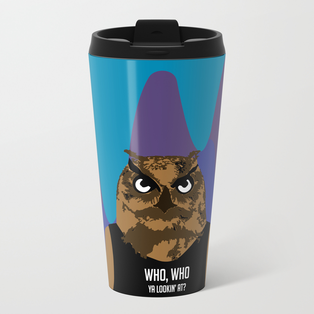 Hoot, Hoot, Who? Travel Mug TRM7992723