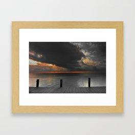SunRise on Key Islamorada Framed Art Print