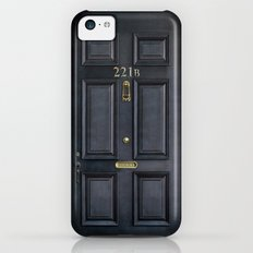 Classic Old sherlock holmes 221b door iPhone 4 4s 5 5c, ipod, ipad, tshirt, mugs and pillow case Slim Case iPhone 5c