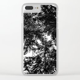 three Clear iPhone Case