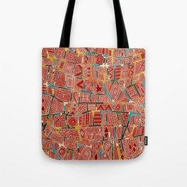 ESHE red Tote Bag