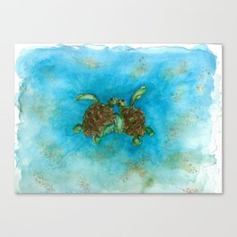 Baby sea buddies Canvas Print