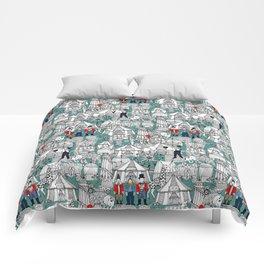 retro circus Comforters