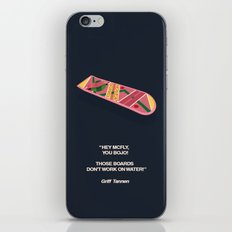 Back To The Future Part II iPhone & iPod Skin