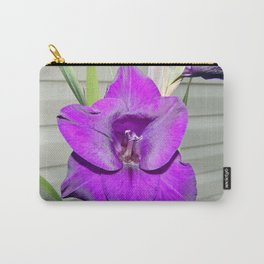 Purple Gladiola Carry-All Pouch