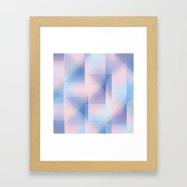 colour & shape Framed Art Print