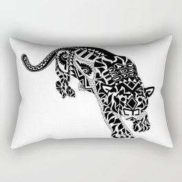 Señor Jaguar Rectangular Pillow